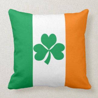 Flag of Ireland Shamrock Cushion
