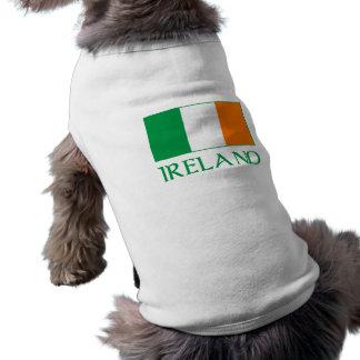 Flag of Ireland Sleeveless Dog Shirt