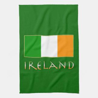 Flag of Ireland Tea Towel