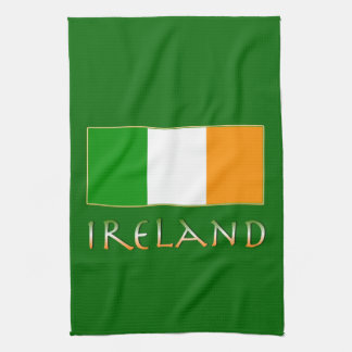 Flag of Ireland Towel