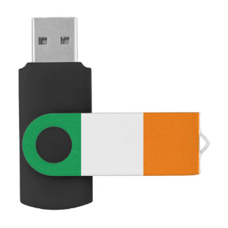 Flag of Ireland USB Flash Drive