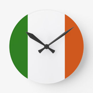 Flag of Ireland Wallclock