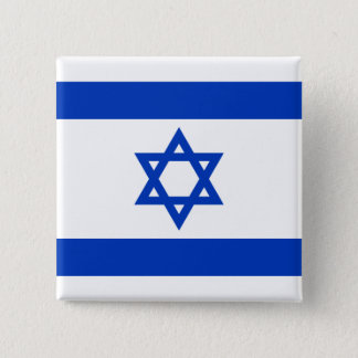 Flag of Israel 15 Cm Square Badge