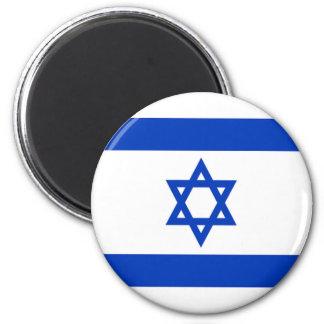 Flag of Israel 6 Cm Round Magnet