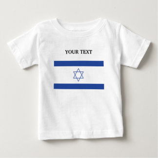 Flag of Israel Baby T-Shirt