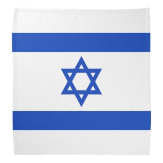 Flag of Israel Bandana