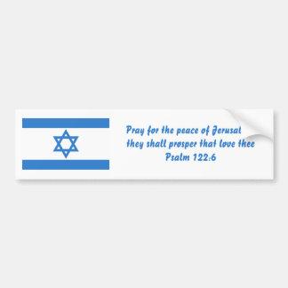 Flag of Israel, Bumper Sticker