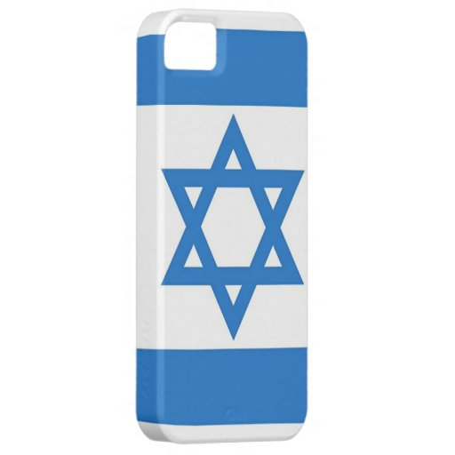 Flag of Israel iPhone 5 Covers