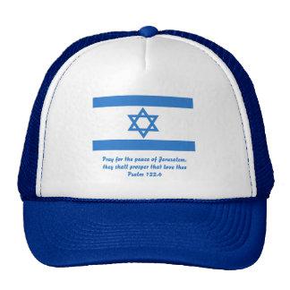 Flag of Israel, Hats