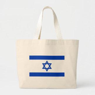 Flag of Israel Jumbo Tote Bag