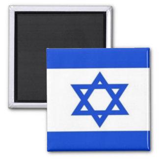Flag of Israel (Magnet) Square Magnet