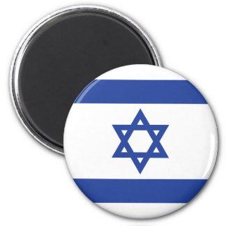 Flag of Israel Refrigerator Magnet