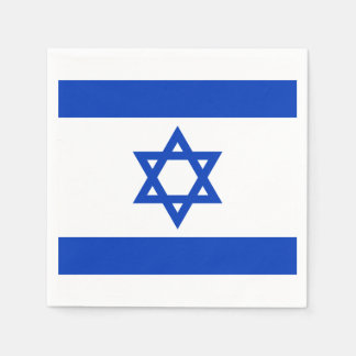 Flag of Israel Paper Napkins Disposable Napkin