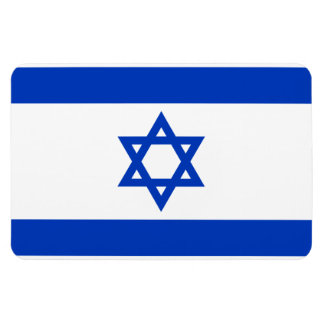 Flag of Israel. Flexible Magnets
