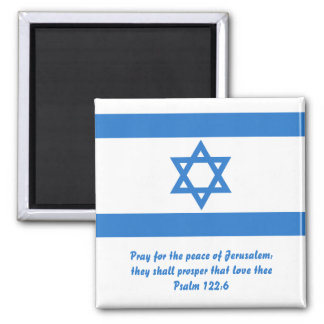 Flag of Israel, Square Magnet
