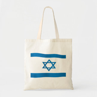 Flag of Israel Star of David Tote Bag