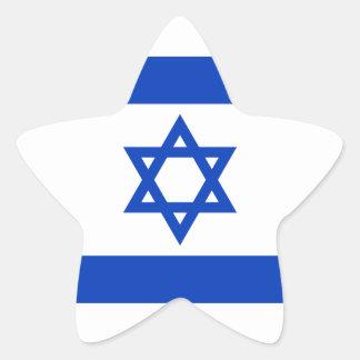 Flag of Israel Sticker (Star)