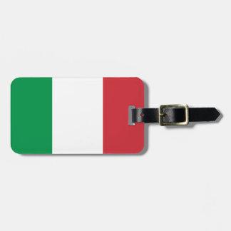 Flag of Italy Bag Tag