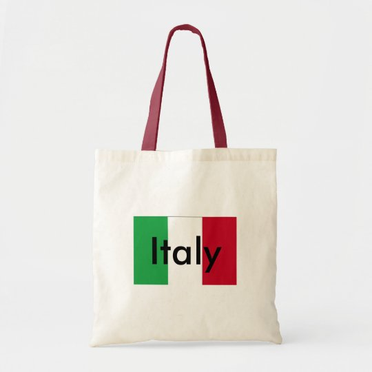 Flag Of Italy Budget Tote