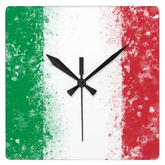 Flag of Italy Clocks