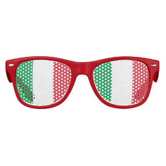Flag of Italy, Fun Italian Flag Kids Sunglasses