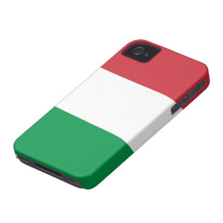 Flag of Italy iPhone 4 Case