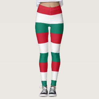 Flag of Italy Italia Italian Leggings