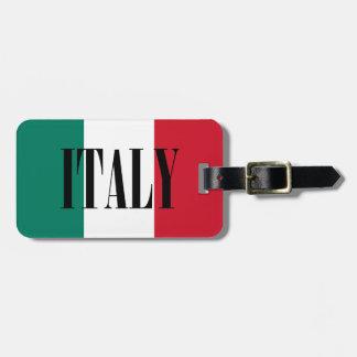 Flag of Italy Italia Italian Luggage Tag