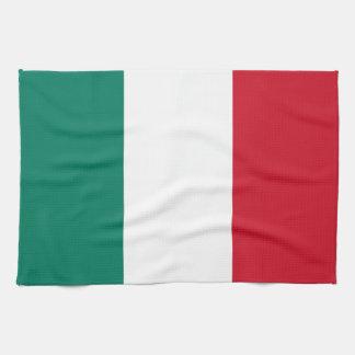 Flag of Italy Italia Italian Tea Towel