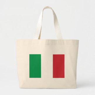 Flag of Italy Jumbo Tote Bag