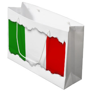 Flag of Italy Large Gift Bag