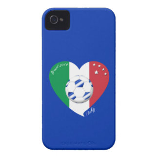 Flag of ITALY national SOCCER of equipment 2014 Case-Mate iPhone 4 Case