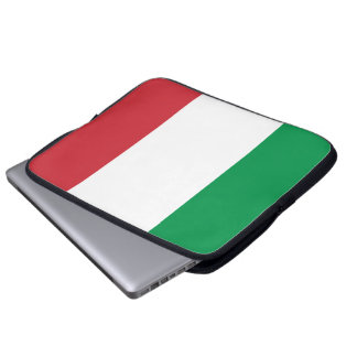 Flag of Italy Neoprene Laptop Sleeve