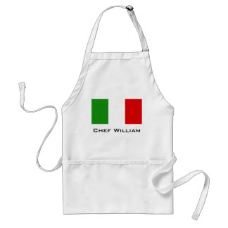 Flag of Italy Standard Apron