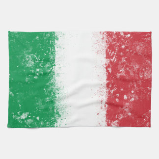 Flag of Italy Tea Towel