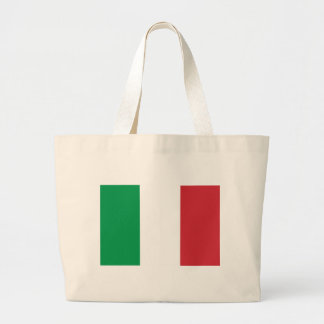 Flag of Italy Canvas Bags