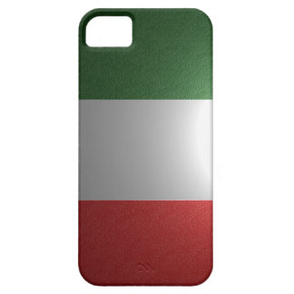 Flag of Italy with metallic effect Barely There iPhone 5 Case