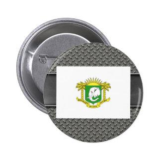 Flag of Ivory Coast 6 Cm Round Badge