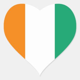 Flag of Ivory Coast - Drapeau de la Côte d'Ivoire Stickers