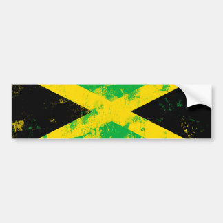 Flag of Jamaica Bumper Sticker