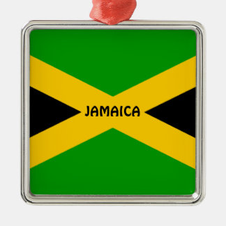 Flag of Jamaica Christmas Ornament