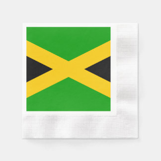 Flag of Jamaica Disposable Serviette