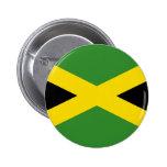 Flag of Jamaica Pinback Button