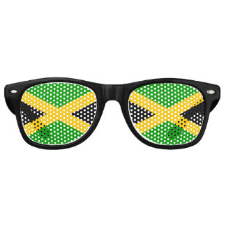 Flag of Jamaica Retro Sunglasses