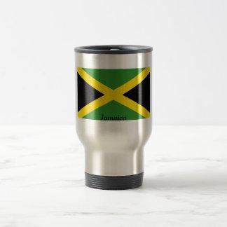 Flag of Jamaica Stainless Steel Travel Mug