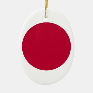 Flag of Japan - 日章旗 - 日の丸 - 日本の国旗 Christmas Ornament