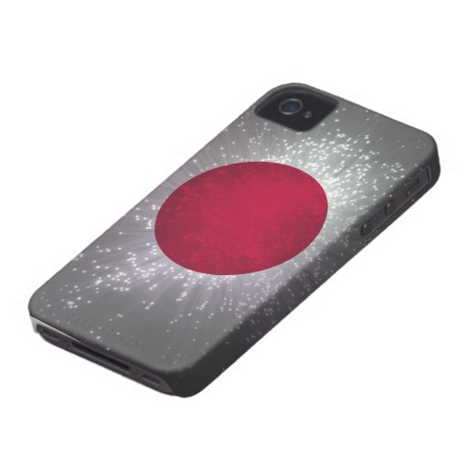 Flag of Japan iPhone 4 Case-Mate Cases