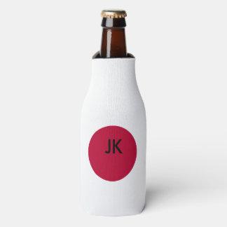 Flag of Japan or Hinomaru Bottle Cooler