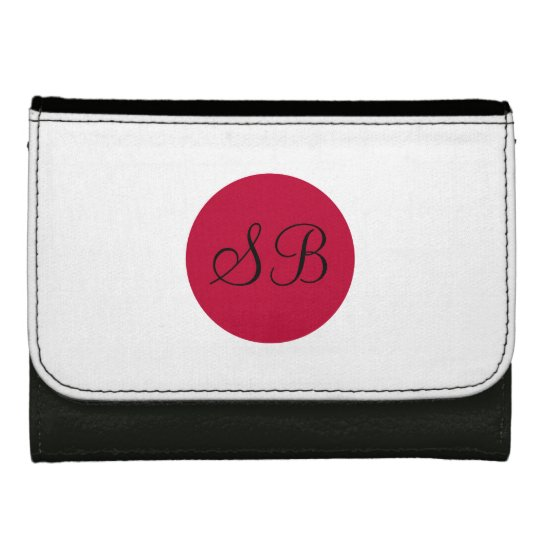 Flag of Japan or Hinomaru Leather Wallets