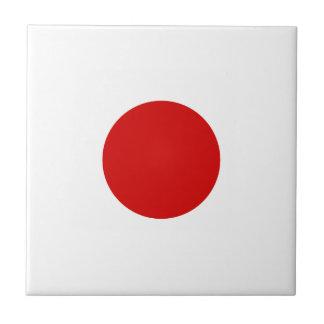 Flag of Japan Tile